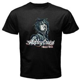 $enCountryForm.capitalKeyWord Australia - New Nikki Sixx Motley Crue Logo Sixx Am Men's Black T-Shirt S M L XL 2XL 3XL
