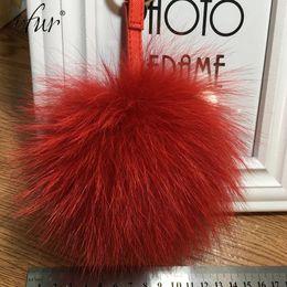 Discount black men doll - IFUR 2017 Lovely ball 100%fox fur Hang bag Pendant Handicraft Car Toy Doll Hanging Pendant Accessories A013