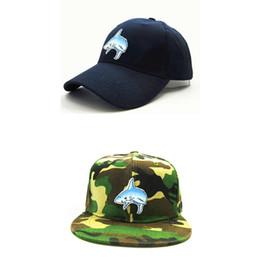 $enCountryForm.capitalKeyWord Australia - LDSLYJR 2018 shark embroidery cotton Baseball Cap hip-hop cap Adjustable Snapback Hats for kids and adult size 300