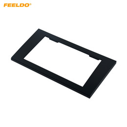 Chinese  FEELDO Car 2DIN Radio Stereo Fascia Trim Panel Frame Installation Mount Adapter Kit For AUDI A4(B7)2005-2008 SEAT Exeo 2009+ #5037 manufacturers
