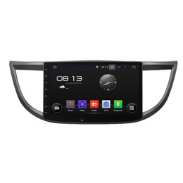 car dvd for honda crv NZ - Car DVD player for Honda CRV 2012-2015 10.1inch 2GB RAM Octa-core Andriod 6.0 with GPS,Steering Wheel Control,Bluetooth,Radio