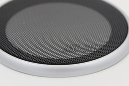 "$enCountryForm.capitalKeyWord NZ - WLKE 2PCS 8"" Speaker Coaxial Steel Sub Mesh Grills Cover Woofer Cover 240mm Black frame High Quality Car Metal Speaker"