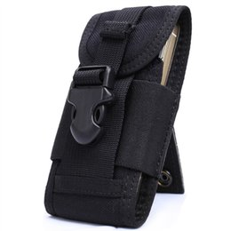 $enCountryForm.capitalKeyWord UK - OneTigris MOLLE Tactical Cell Phone Smartphone Pouch fit iPhone 4 5 SE Samsung HTC Nylon Running Cellphone Bag