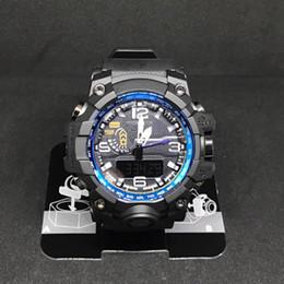 Vente en gros 2017 Hommes Top Marque Sports Montre-Bracelet G Militaire De Mode Moderne Étanche montres Mens Numérique En Gros Montres relogio masculino relojes