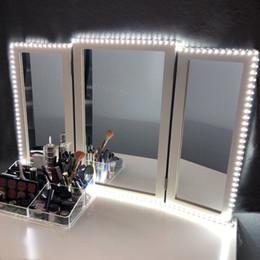 Luces LED para espejo de vanidad Juego de tiras LED 13ft / 4M 240 LEDs Luz de espejo de vanidad de maquillaje para juego de mesa de maquillaje de vanidad con atenuador y fuente de alimentación en venta