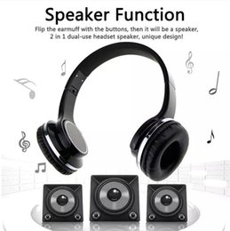 China SODO MH1 NFC 2in1 Twist-out Speaker Bluetooth Headphone With FM Radio  AUX TF Card MP3 Sports Magic Headband Wireless Headset 39-EM DHL ship suppliers