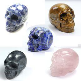 $enCountryForm.capitalKeyWord Australia - 2inches Natural Rock Quartz Crystal Skull Hand Carved Crystal Skull Reiki Healing Crystal Figurine,Home Decor,Halloween Gift