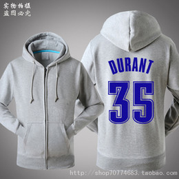 Autumn Winter hoodies For Kevin Durant hoodies & sweatshirts Hat Fleece  casual men plus size Basketball Sport sweatshirt