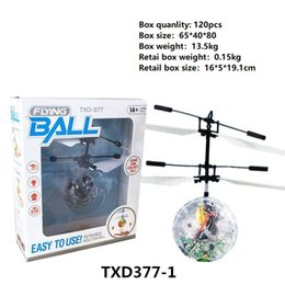 Kids light up balls online shopping - 10models RC Drone Flying copter Ball Aircraft Helicopter Led Flashing Light Up Toys Induction Electric Toy sensor Kids Children Christmas BB