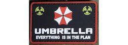 High Quality Backpack Brands Australia - Free shipping Brand New Resident evil UMBRELLA corporation Logo High Quality Rubber PVC Badge Clothing Backpack Bag Cap Sewing Applique