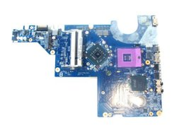 Hp Cq62 Laptop UK - 616449-001 DAAX3MB16A0 for HP Pavilion G62 CQ62 G72 laptop motherboard gl40 ddr2 Free Shipping 100% test ok