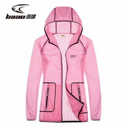 LXIAO Hiking Jackets Outdoor Clothing Ultra-light Quick Dry Anti-uv Sun  Protective Waterproof Outdoor Jacket Women Beach Coat 2019 0abfd6207