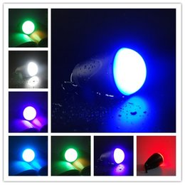Wholesale Remote Control RGB LED Light Bulb Camping Lantern IP65 Waterproof Outdoor Tent Light Hiking Fishing mAh Rechargeable Battery