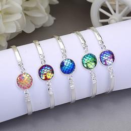 $enCountryForm.capitalKeyWord NZ - Wholesale jewelry, Korean version of the bracelet, European and American fashion multicolor fish scale bracelet, a variety of styles bracele