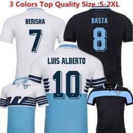 88988d41225 Lazio Soccer Jersey Miroslav Klose Calcio Maglia Away Black 18 19 Candreva  Lucas Immobile Basta Lazio Commemorative Jersey Italy Home Blue