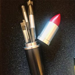 $enCountryForm.capitalKeyWord UK - Is this lipstick? no! It's Famous brand M brushes kit makeup brush 4 piece set eyeshadow + blush + foundation + eyebrow brushes makeup kit