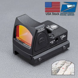 Wholesale Trijicon RMR Red Dot Sight Colimador / Reflex Sight Scope fit 20mm Ferroviário Weaver Para Airsoft / Rifle de Caça