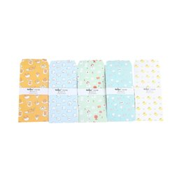 $enCountryForm.capitalKeyWord UK - 5Pcs pack Cute Cartoon Little Animals Envelope Letter Paper Message Card Letter Stationary Envelopes Office School Supply