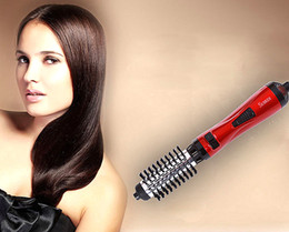 "Air Brush Hair Styler NZ - Rotating,Spinning Hot Air Styling Hair Brush, 2-in-1 Styler and Dryer, Includes 2 Heads, A 1.5"" and A 2"" Barrel, Salon Quality, Tangle"