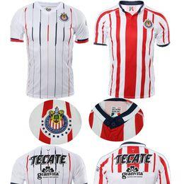 New Arrived 2018 MEXICO Club Classic Chivas de Guadalajara Home Soccer  Jersey 2019 Authentic Champion Camiseta de Futbol Football Shirts 4a14f44ba8ac