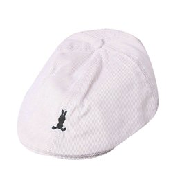 $enCountryForm.capitalKeyWord UK - Kids Hat Coon Baby Boy Girl Coon Stripe Beret Cap Newsboy Casquee Baseball Hat