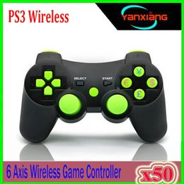 Playstation Sixaxis Wireless Controller Australia - 2018 Wireless Bluetooth Game Controller For playstation 3 PS3 SIXAXIS Controle Joystick Gamepad 50PCS YX-PS-WW