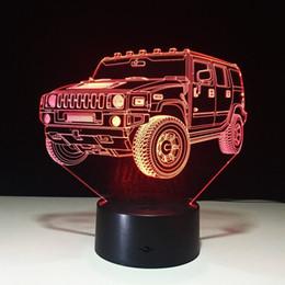 $enCountryForm.capitalKeyWord NZ - Home Decoration Hummer Novelty 3D Lamp LED Night Light Battery Powered USB Night Lamp Kids Room #R54