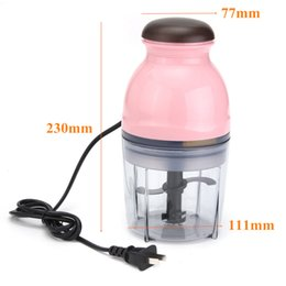 Mini processors online shopping - Birthday Party Mini Electrical Fruits Vegetables Food Chopper Juicer Processor Meat Potato Mahsher Mixer Blender Slicer Kitchen Tools w