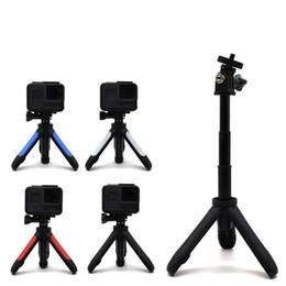 4k stick 2019 - Mini Tripod Mount Tripode Action Camera Tripe Selfie Stick Extendable Monopod for Hero 6 5 4 3 SJCAM EKEN H9 Xiaomi YI 4