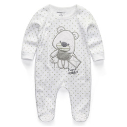 China 2018 New Baby Clothing Newborn Rompers Body Suits Full Sleeve Cotton Jumpsuits Infant Baby Romper Clothes Sleepsuits For Boy Girl supplier baby animal romper suits suppliers