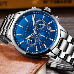 $enCountryForm.capitalKeyWord NZ - LIGE Mens Watches Top Brand Luxury Fashion Business Quartz Watch Men Sport Full Steel Waterproof Black Clock relogio masculino Y1892107