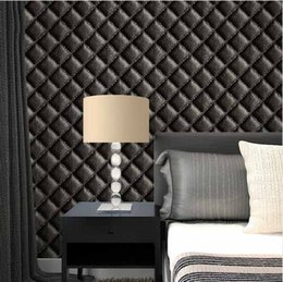 $enCountryForm.capitalKeyWord NZ - Euopean Style Faux Leather Wallpaper Wall Paper Roll Bedroom Live room Sofa Backdrop Wall Covering for Stores Restaurant