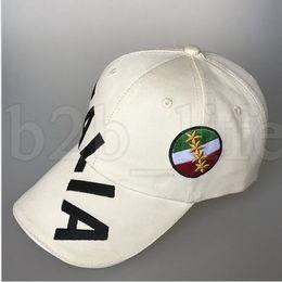 e191895c0ab Italia World Cup 2018 Caps FIFA Cotton Adjustable Caps Football Fans Hats  Mens Designer Hat Teenager Baseball Hats KKA5226