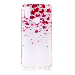 $enCountryForm.capitalKeyWord UK - Soft TPU Cover For Xiaomi Mi 6X Mi6X Case High transparent Cherry Blossom series design Silicone Mobile Phone Cases Covers