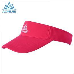 7ccf89760d6 AONIJIE Sport Tennis Cap Men Summer Running Sun Hats For Women Outdoor  Sunshade Sun Protection Cap Adjustable Visor Baseball Hat