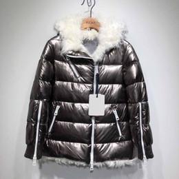 abfd3ec9e5 Women Winter Jacket Ladies Duck Down Inside Real Sheap Fur Warm Coat Femme Long  Coat Quality Very Good 788