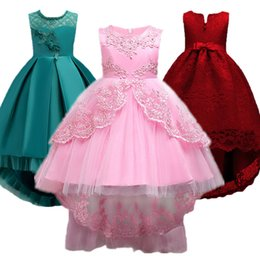 Vestido da menina do bebê Crianças Crianças Vestidos Para Meninas 2 3 4 5 6 7 8 9 10 Ano de Aniversário Outfits Vestidos Meninas Festa À Noite Roupas Formais
