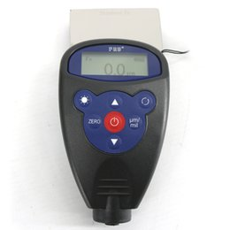 Paint coating thickness tester online shopping - WH Portable Digital Coating Thickness Gauge Paint Thickness Tester WH81 non magnetic metal substrate