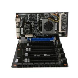 C.J1900A-BTC PLUS YV20 pour 8 cartes graphiques, plus carte mère minière pour Intel Bay Trail-D J1900 avec 8 PCI