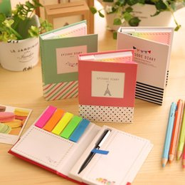 Notepad Australia - Creative Hardcover Memo Pad Post It Notepad Sticky Notes Stationery Diary Notebook Office School Supplies
