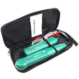 Горячий продавать MS6812 Телефонный Провод Tracker LAN Сетевой Кабель Тестер Для UTP STP Cat5 Cat6 RJ45 RJ11 Линии Поиск Тестирования на Распродаже