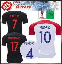 Thai Quality 2018 World Cup VIDA REBIC RAKITIC Hrvatska LOVREN Croatia  Soccer Jersey Luka Modric Voetbal croazia Football Shirts MANDZUKIC 1b65ebf5d