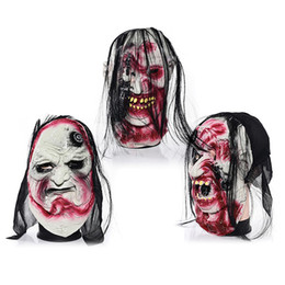 $enCountryForm.capitalKeyWord NZ - Halloween Grimace Mask Horror Zombie Devil Latex Whole Ghost Mask Festival Masquerade Party Halloween Decoration