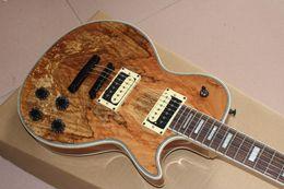 Mahogany Musical Instruments Canada - Custom Shop Wooden Solid rotten tree wood standard custom Electric Guitar Top Musical instruments HOT selling guitarra2018