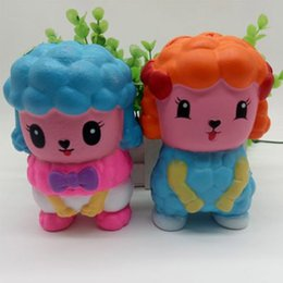 Carino 12 cm Boy Girl Giocattoli Squishy Cartoon Doll Spremere lento Alzarsi torta profumato Phone Charms stress mitigatore regalo per bambini Casa Dectoration