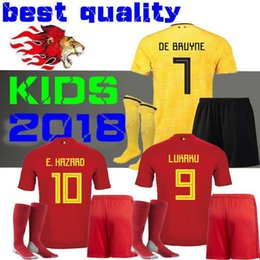brand new b03e8 d14c1 hazard belgium jersey 2018