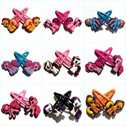 $enCountryForm.capitalKeyWord NZ - Retail 10pairs+ Lovely Horses Cartoon Girls Hair Clip Barrettes Headwear Hair Accessories Hairpins Kid Gift Party Favors Hair Jewelry