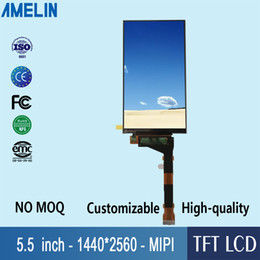 lcd screen resolutions Australia - 5.5 inch 2K High resolution 1440*2560 TFT LCD Module display with MIPI interface screen use for 3D printing