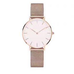 Designer Watch Straps UK - Fashion luxury Mens quartz watches 40mm D062201 designer Simple and generous women wristwatch 32mm stainless steel strap watch