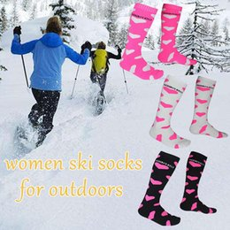 warmest thermal socks UK - Thicken Cotton Unisex Winter Sports Socks Warm Thermal Ski Snowboarding Socks Walking Hiking Stockings Warmer